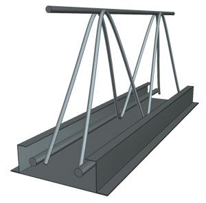 Балка «Домовладелец» с оцинкованным металлическим основанием